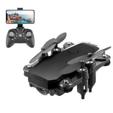 LF606 2.4G WiFi FPV RC Drone com Câmera 4K Altitude Hold Headless Mode Quadcopter com Bolsa Portátil