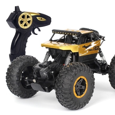 P810 1/18 2.4G 4WD 15 KM / h Alliage Haute Vitesse Monstre Camion Cross-country RC Escalade Voiture