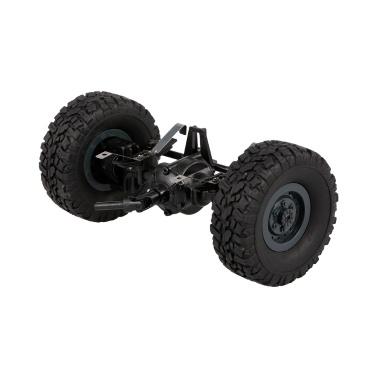 JJR/C Front Bridge Axle Shaft Assembly w/ Tire Wheel