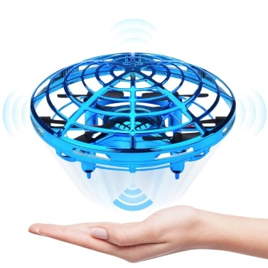 Mini Drone UFO Hand Operated Helicopter Quadrocopter Drone Infrared Induction Aircraft Flying Ball Toys For Kids