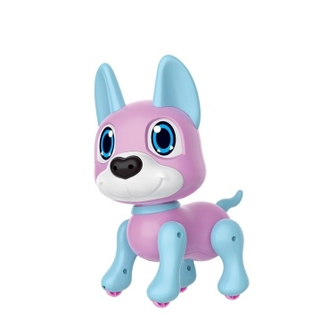 Electronic Robot Dog Toy with Gesture Sensing Lights and Puppy Sounds Intelligent Playing Music