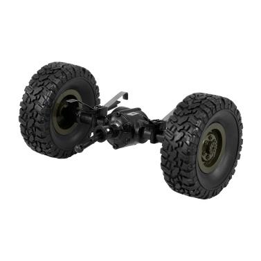 JJR/C Rear Bridge Axle Shaft Assembly w/ Tire Wheel