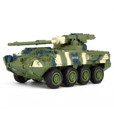 Crear juguetes 8021 RC Battle Tank Car