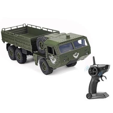 JJRC Q75 RC Militär-LKW 6WD 2,4 GHz Armee-LKW-Geländewagen