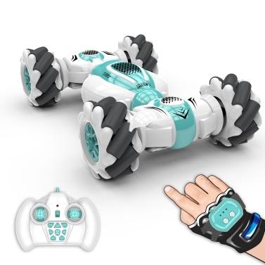 S-012 RC cascadeur voiture 2.4GHz 4WD télécommande montre capteur de geste déformable voitures jouets électriques