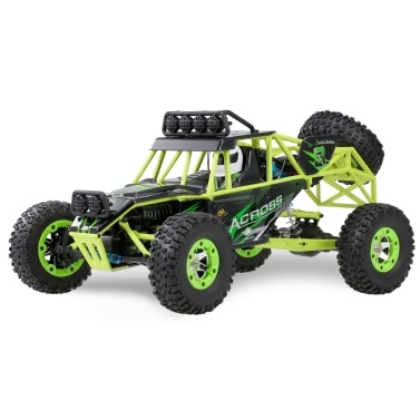 Original Wltoys 1/12 2.4G 4WD 50 km / h Carro de RC de Alta Velocidade Off Road Car RC Rock Crawler Cross-country RC Truck