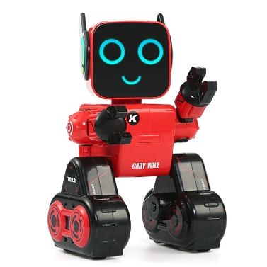 JJRC R4 CADY WILE 2.4G Intelligent Remote Control Robot Advisor RC Toy Coin Bank Gift Kids