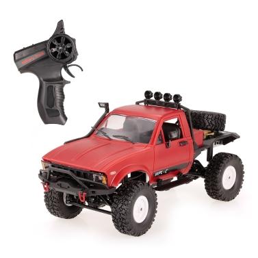 4 € de réduction pour WPL C14 1/16 2.4GHz 4WD RC Crawler Off-road Semi-camion de voiture avec phare RTR seulement € 32,67