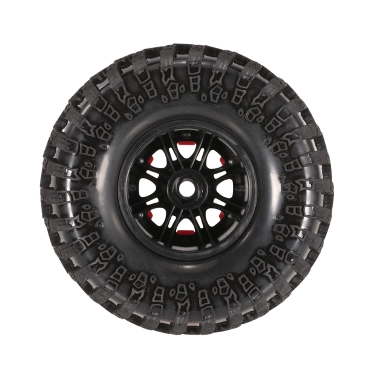 4pcs AUSTAR AX-3021A 130mm 2.2in Rim Rubber Tyre Wheel Set for Axial SCX10 RC4WD D90 1/10 RC Rock Crawler Car
