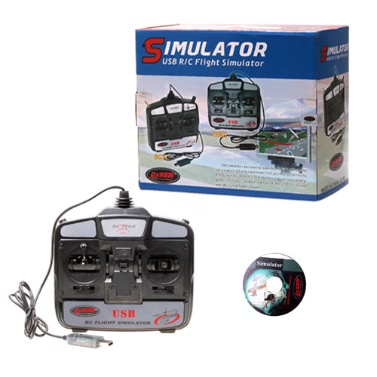 6 Channels RC Helicopter Flight Simulator