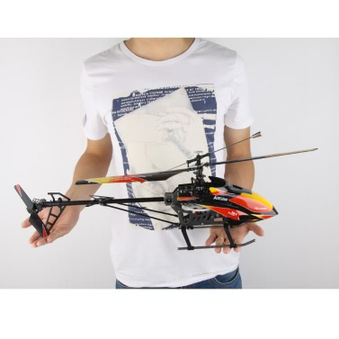 Ursprüngliche WLtoys V913 Brushless Upgrade-Version 4Ch Helicopter RTF 70cm 2.4GHz eingebaute Gyro extrem stabile Flug