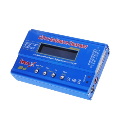 IMAX B6 80W Multi-function Professional Intelligent 1-6 Cells XT60 LiPo Battery Digital Balance Charger