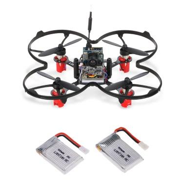 LANTIAN LT90S 90mm Micro FPV Racing Drone Quadcopter w/ F3 EVO Flight Controller Support Frsky Taranis X9D/X9D Plus BNF