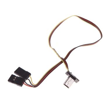 GoolRC USB 90 Degree to AV Video Output & 5V DC Power BEC Input Cable FPV for Gopro Hero 3 camera(AV Video Output,5V DC Power BEC Input Cable,Gopro Hero Cable)