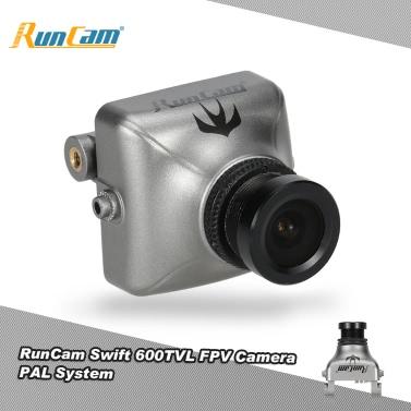Original RunCam Swift 600TVL FPV PAL Camera 2.8mm Lens & Base Holder IR Blocked for QAV250 180 210 RC Quadcopter
