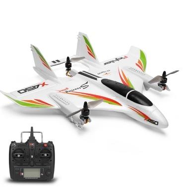 WLtoys XK X450 2.4G 6CH 3D / 6G RC Hubschrauber Vertikalstart LED RC Segelflugzeug Starrflügel RC Flugzeug Flugzeug RTF