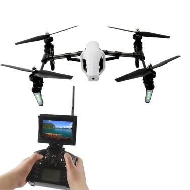 Ursprüngliche WLtoys Q333-A 5.8G FPV 4CH 6-Achsen-Gyro RC Quadcopter 0.3MP Kamera Drone Anti-shake Trans Toy UAV