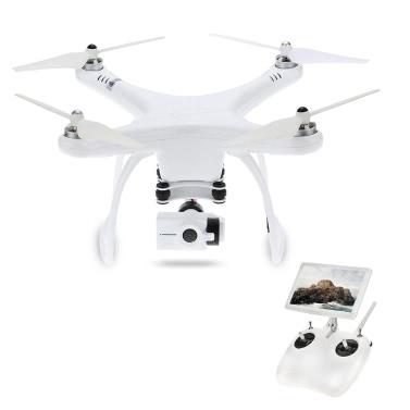 Upair One 5.8G FPV 2.7K Caméra HD Sans balais GPS Drone à 2 axes Gimbal Photographie aérienne Une clé Retour Altitude Tenir RC Quadcopter