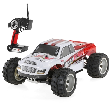 18% OFF WLtoys A979-B 2.4G 1/18 Scale 4WD 70KM/h Monster Truck RC Car,limited offer $68.99