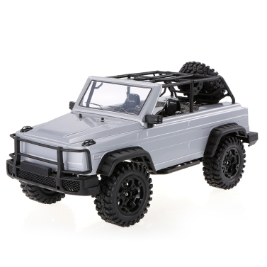HG-P402 2.4G 1/10 4WD RC Buggy Car Professional Rock Crawler Two Speed Switch Gearbox Adjustable Wheelbase RTR
