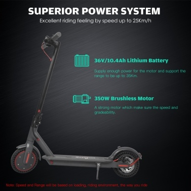Happyrun HR-15 8.5 Inch 2 Wheel Electric Scooter