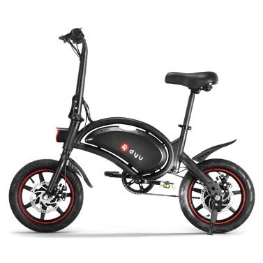 DYU D3F 14 Inch Folding Power Assist Electric Bike 6AH