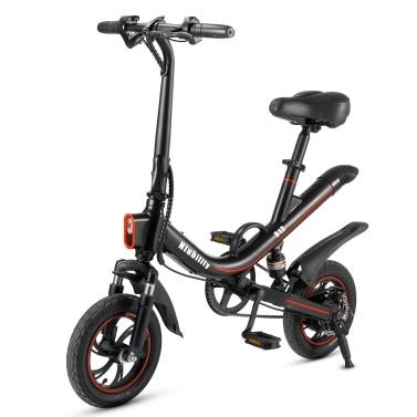 Vélo électrique pliant Niubility B12 avec moteur sans balai 350W et batterie au lithium 7.8AH