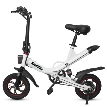 Niubility B12 Folding Electric Bike With 350W brushless motor and 7.8AH lithium battery