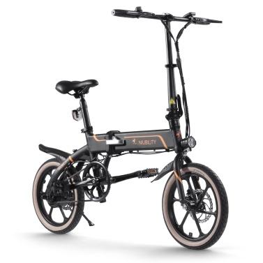Niubility B16 16 Zoll faltendes elektrisches Fahrrad 350W 10.4Ah