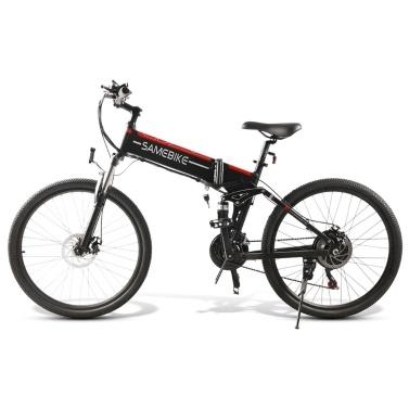 Электрический велосипед Samebike LO26 500 Вт, 26 дюймов, складной электрический велосипед