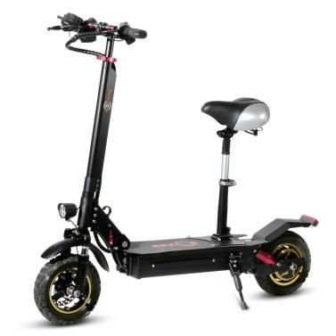 BEZIOR S1 10 Zoll Elektroroller mit zwei Rädern und Sattelsitz
