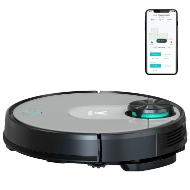 Viomi V2 Pro Robot Vacuum Cleaner Sweeping Mopping Robotic Cleaner 2100Pa Strong Suction Smart Navigating App Control