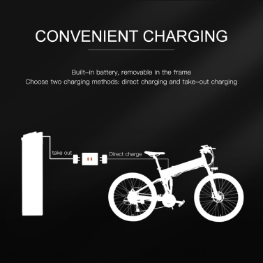 LANKELEISI XT750PLUS Electric Bicycle 500W 40km/h Top Speed 75 - 100km Range