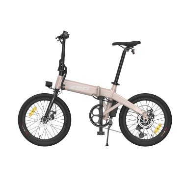 HIMO Z20 20 Inch Folding Power Assist Electric Bicycle 80KM Range 10AH Removable Battery Moped E-Bike Electric Bike with Mudguard and Inflation Pump
