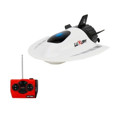 Create Toys Mini RC Submarine Boat RC Toy Remote Control Waterproof Diving Christmas Gift for Kids Boys