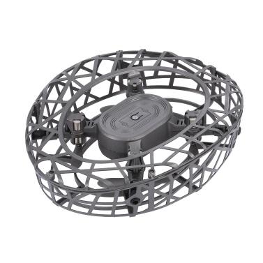 Handbetriebene Drohnen ATTOP F6 Scoot geben Minidrohnen-Infrarotinduktions-360 ° drehende LED-Lichter frei