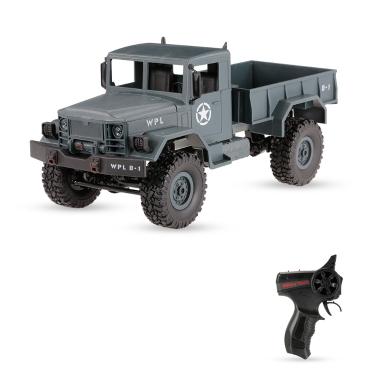 $3 OFF WPL 4WD RC Crawler Off-road Milit