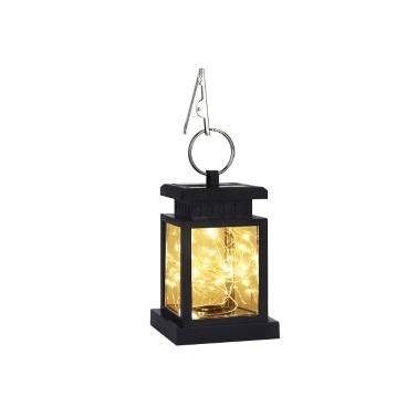 Solar Powered Flickering Candle Lantern