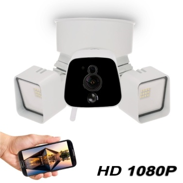 Caméscope projecteur Floodlight WiFi 1080p