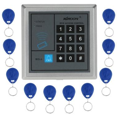 KKmoonu00ae DC12V 125KHz Door Entry Access Control System
