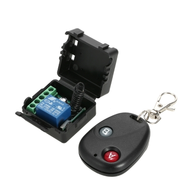 Smart Home 433Mhz DC 12V 1CH Wireless Remote Switch,limited offer $5.79