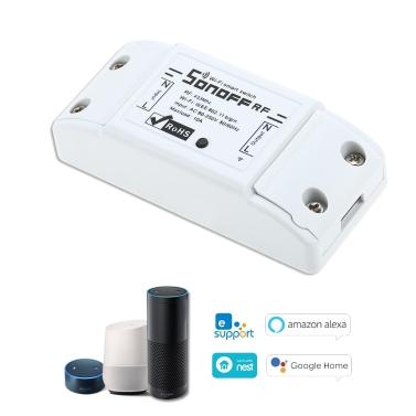 SONOFF RF Wifi Switch RF 433MHz Works with Alexa for Google Home