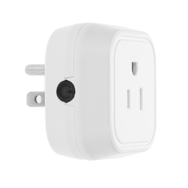 Mini Wifi Smart US Plug Voice Control for Amazon Alexa for Google Home/Nest IFTTT For TP-Link (1 Pack)