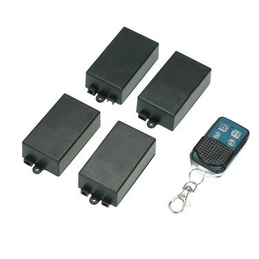 4*433MHz AC180V-240V 1CH Universal 10A Relay Wireless Remote Control
