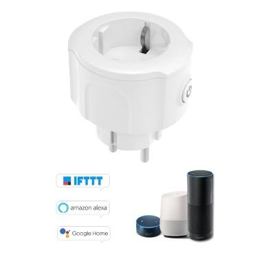 39% OFF Wifi Smart Socket Plug EU Type-E Support APP Remote Control,limited offer $13.79