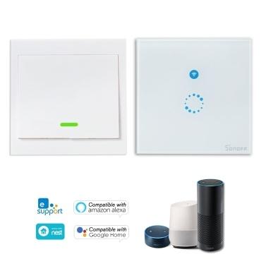 SONOFF T1 1 Gang Smart WiFi Wandlichtschalter