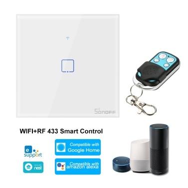SONOFF T1UK1C-TX 1 Gang Smart WiFi Wandlichtschalter