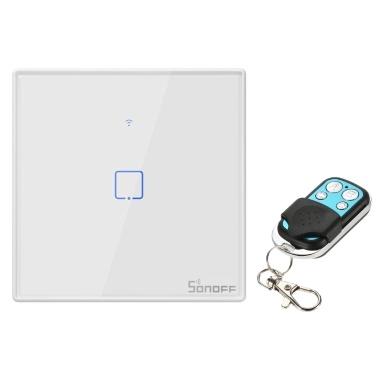 SONOFF T2EU1C-TX 1 Gang Smart WiFi Wandlichtschalter