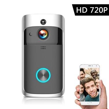 Intelligente drahtlose HD 720P-Video-Gegensprechanlage WI-FI-Video-Türsprechanlage