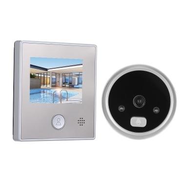 1.3MP Türspionkamera 2,8-Zoll-Farb-LCD-Monitor Video-Türspion Türauge Türklingel Fotoaufnahme / Videoaufnahme für Home Security